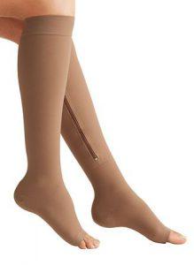Zipper Socks - comentarios - Amazon - creme