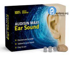 Audisin Maxi Ear Sound - como aplicar - como usar - funciona - como tomar